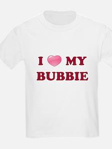 Jewish - I love my Bubbie - Kids T-Shirt