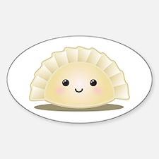 Dumpling (Mandu) Sticker (Oval)