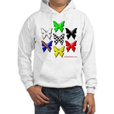 checkered heart and handcuffs Hoodie