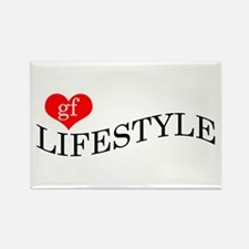 gf LIFESTYLE Rectangle Magnet