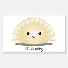 Dumpling (Mandu) Sticker (Rectangle)
