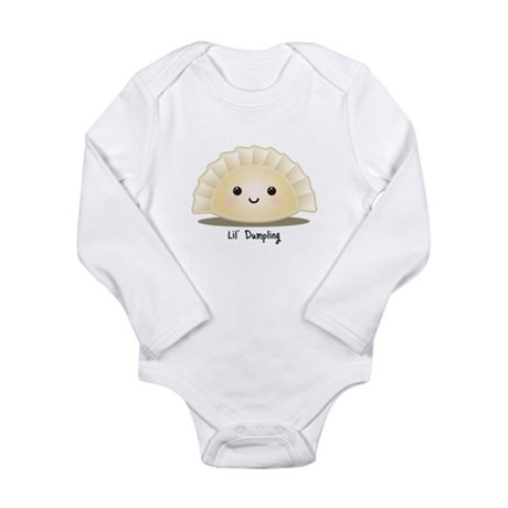 Dumpling (Mandu) Long Sleeve Infant Bodysuit