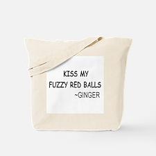 Ginger Balls Tote Bag