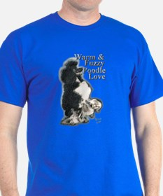 Warm & Fuzzy Poodle Love T-Shirt
