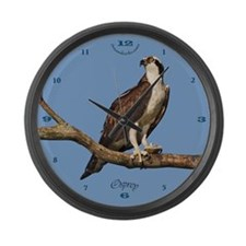Osprey: Pandion Haliaetus Large Wall Clock