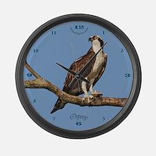 Osprey: Pandion Haliaetus Large Wall Clock