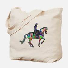 Dressage Horse Tote Bag (double sided)