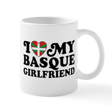 I Love My Basque Girlfriend Mug