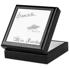 Soon ti be Mrs. Forshee Keepsake Box