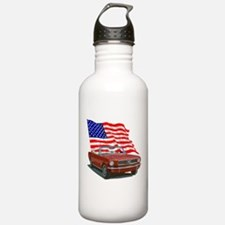 Cute America Water Bottle