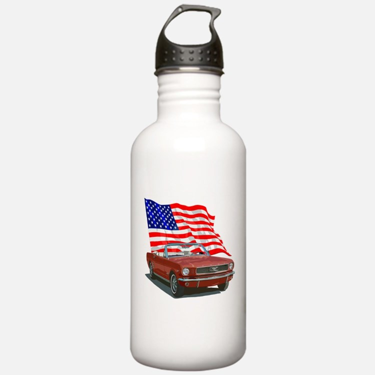 Cute Ford mustang Water Bottle