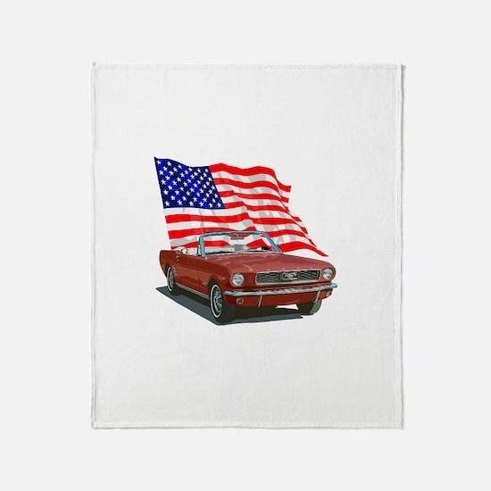 Unique Sports car Throw Blanket