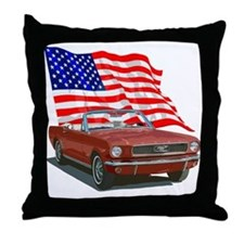 Unique Ford mustang Throw Pillow