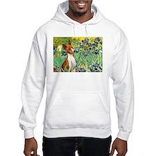 Basenji in Irises Hoodie