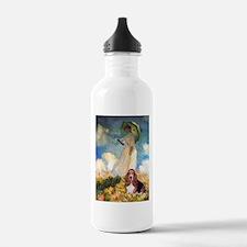Umbrella & Basset Water Bottle