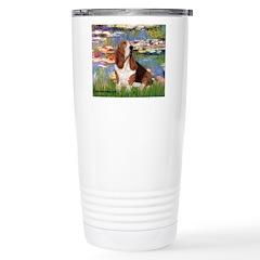 Lilies & Basse Travel Mug