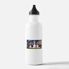 Starry Basset Water Bottle