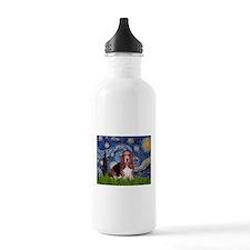 Starry / Basset Hound Water Bottle