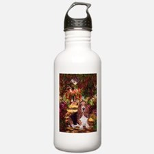 The Path & Basset Water Bottle