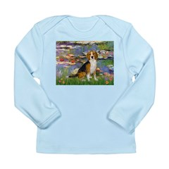 Lilies (#2) - Beagle #7 Long Sleeve Infant T-Shirt