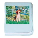 Bridge & Beagle baby blanket
