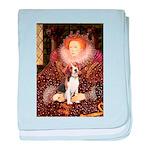 Queen / Beagle (#1) baby blanket