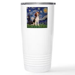 Starry Night / Beagle Stainless Steel Travel Mug