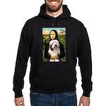 Mona / Bearded Collie #1 Hoodie (dark)