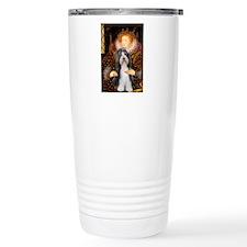 Queen / Beardie #6 Travel Mug
