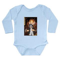 Queen / Beardie #6 Long Sleeve Infant Bodysuit