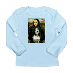 Mona / Bearded Collie Long Sleeve Infant T-Shirt