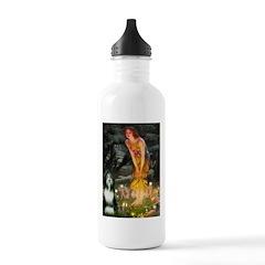 Fairies / Bearded Collie Water Bottle