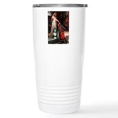 Accolade / Bearded Collie Travel Mug