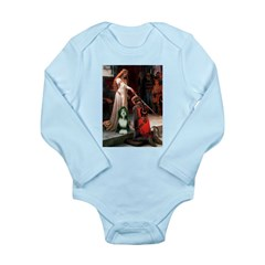 Accolade / Bearded Collie Long Sleeve Infant Bodys