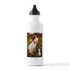 Windflowers/Bedlington T Water Bottle