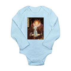 Queen / Bedlington T Long Sleeve Infant Bodysuit