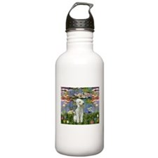Lilies / Bedlington T Water Bottle