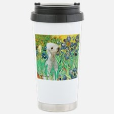 Irises /Bedlington T Stainless Steel Travel Mug