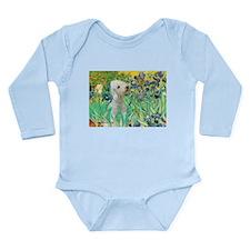 Irises /Bedlington T Long Sleeve Infant Bodysuit
