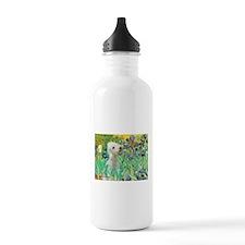 Irises /Bedlington T Water Bottle