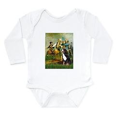 Spirit of '76 & Bernese Long Sleeve Infant Bodysui