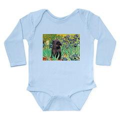 Irises / Cairn (#17) Long Sleeve Infant Bodysuit