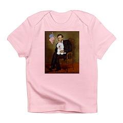 Lincoln & his Bichon Infant T-Shirt