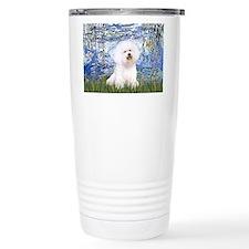 Lilies (6) & Bichon Travel Mug