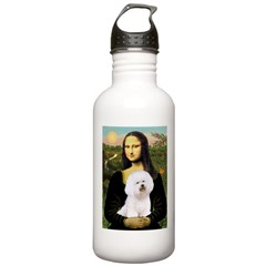 Mona's Bichon Water Bottle
