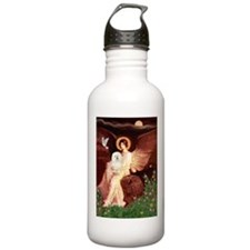Seated Angel & Bolognese Water Bottle