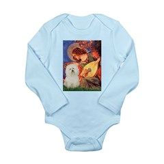 Mandolin Angel & Bolognese Long Sleeve Infant Body