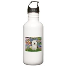 Lilies (#2) & Bolognese Water Bottle
