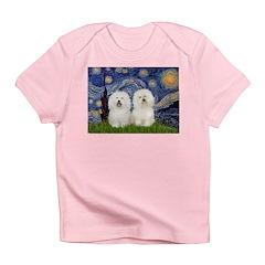 Starry Night / 2 Bolognese Infant T-Shirt