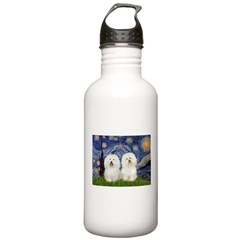 Starry Night / 2 Bolognese Water Bottle